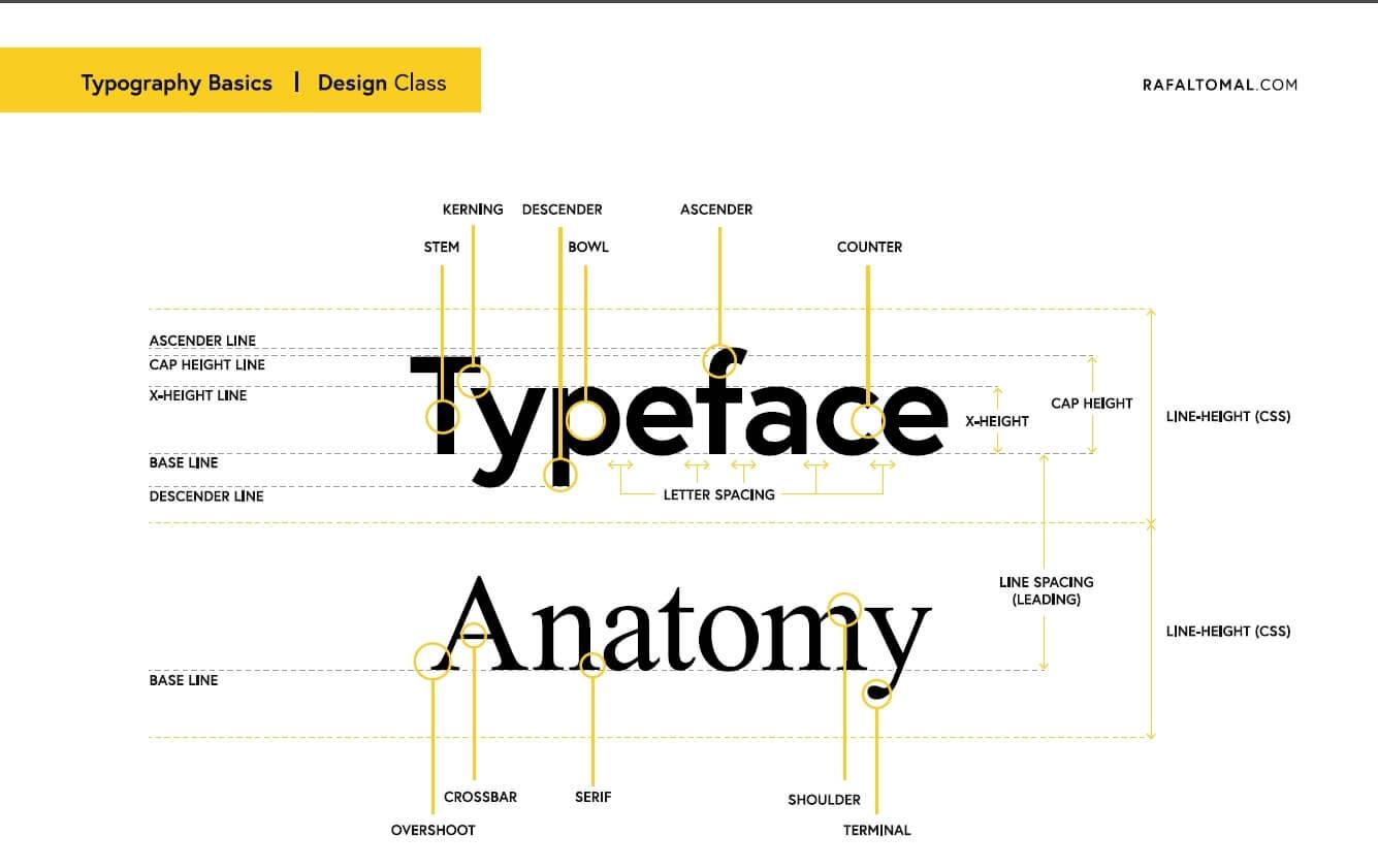Temat strony jest ważny, ale fonty są ważniejsze
